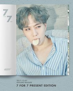 #got7 #7for7 #presentedition #KimYugyeom