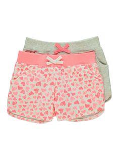 2 pairs shorts - asda £6