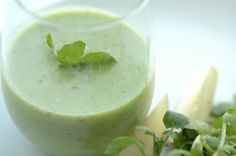 Watercress Spinach Smoothie - Green Lemonade...Add banana & parsley!