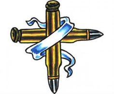 crossed rifle tattoo - Bing Images