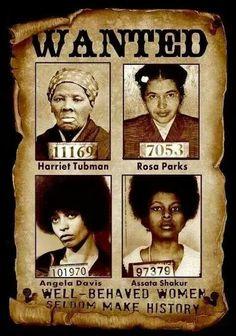 Great women in history!