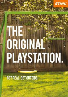 Stihl: The Original Playstation   Ads of the World™