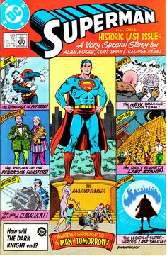 Superman 1939 1st Series 423  September 1986 Issue  by ViewObscura