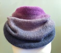 Ravelry: Ombre Cowl Hood pattern by Hilary Carr