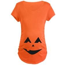 One Tooth Jack O'Lantern Maternity T-Shirt. Click to see this design on other shirts.