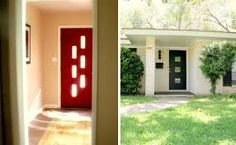 Image result for retro 50's style front doors