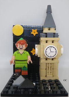 Lego Peter Pan Minifigures Vignette 8x8