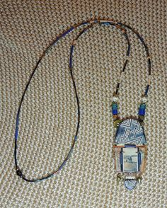 Victoria (Tory) Hughes Hinged Pendant -  AVAILABLE. Purchased at a Ravensdale Conference.