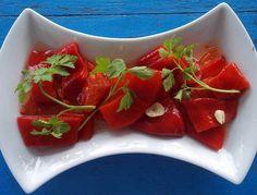 Közlenmiş Kırmızı Biber Turşusu                        -  Dilek Erol #yemekmutfak