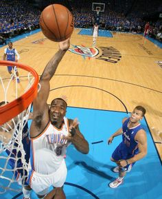 Photo Gallery: Game 1 vs. Clippers: May 5, 2014 | THE OFFICIAL SITE OF THE OKLAHOMA CITY THUNDER