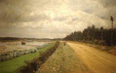 Lungo l'Ofanto 1870 - Giuseppe De Nittis