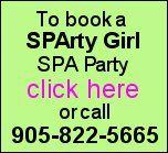 SPA parties for tweens and teens | SPArty Girl