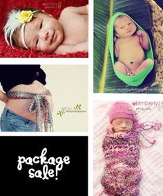 Baby and Maternity Photo Prop $59