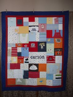 Quilts made of old baby clothes that way you can keep them forever ... : quilts made from clothes - Adamdwight.com