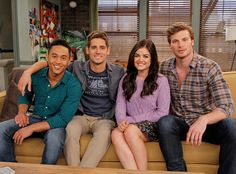 Pretty Little Liars' Lucy Hale Is Getting Wild on Baby Daddy—Get Your First Look at the Big Crossover!
