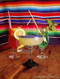 Mexican cocktails by Nicolás Batista, via Dreamstime