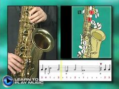 Ex013~T How to Play Saxophone - Saxophone Lessons for Beginners ~ Tenor Part - YouTube