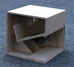 Cubo 15 is the previous generation of Cubo The size of it is 62 x 62 x in height x width x depth. The frequency starts from 40 Hz . 15 Subwoofer Box, Subwoofer Box Design, Speaker Box Design, Subwoofer Speaker, Pro Audio Speakers, Diy Speakers, Speaker Plans, Loudspeaker, Planer