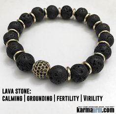 As a folk remedy, #Lava stones are used for #infertility and poor #libido & #viritlity. Lava is fantastic for stabilizing and grounding the root #chakra. ♛ #BEADED #Yoga #BRACELETS #Mens #Good #Luck #womens #Jewelry #Fertility #Eckhart #Tolle #CrystalsEnergy #gifts #Chakra #reiki #Healing #Kundalini #Law #Attraction #LOA #Love #Mantra #Mala #Meditation #prayer #mindfulness #wisdom #CrystalEnergy #Spiritual #Gifts #ValentinesDay #Valentine #Valentines