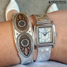 How do you tell time? With a Montana Silversmiths timepiece. http://www.montanasilversmiths.com/dress-western-rectangular-rope-face-watch-wch1463