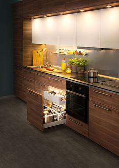 Inspiración tips e ideas en cocinas de madera!