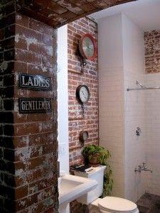 Salle de bains loft