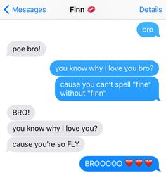 """Finn and Poe forever, seriously.   13 Texts From The """"Star Wars"""" Universe"""