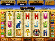 Cleopatra's gold slot machine review: http://www.24hr-onlinecasinos.com/slots-machines/cleopatras-gold-slot-machine/