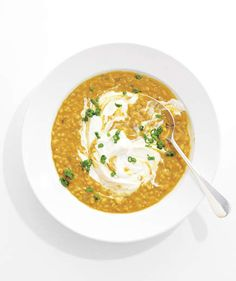 Barley and Lentil Soup | Tasty vegetables and healthy whole-grains take center stage in these delicious mains.