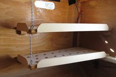 Making lightweight shelves for RV's and boats.