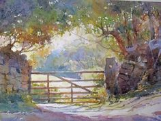 robert brindley paintings | Painting Atmospheric Watercolour Landscapes With Robert Brindley