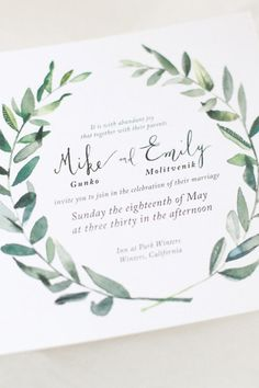 10 Wedding Invitation Trends That Prove Snail Mail Is Still the Best via…