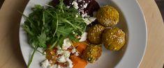 Zöldséges golyók házilag - Jobb, mint az Ikeában - Receptek | SóBors Falafel, Baked Potato, Potatoes, Baking, Ethnic Recipes, Main Courses, Food, Art, Turmeric