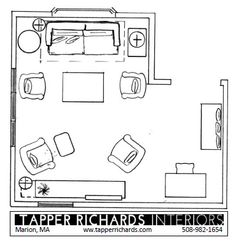 tapper richards interiors floor plan friday l shaped living room - Living Room Floor Plans