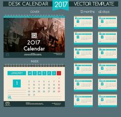 Desk 2017 calendar cover and inside template vector 08 - https://www.welovesolo.com/desk-2017-calendar-cover-and-inside-template-vector-08/?utm_source=PN&utm_medium=welovesolo59%40gmail.com&utm_campaign=SNAP%2Bfrom%2BWeLoveSoLo