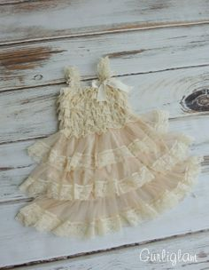 Cream Lace Flower Girl DressIvory Lace DressLace by Gurliglam, $30.00
