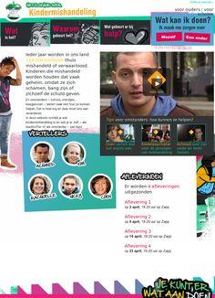 Kindermishandeling: wat is het, waarom gebeurt het, wat gebeurt er bij hulp? ... Het klokhuis NL boeiende site voor jongeren.