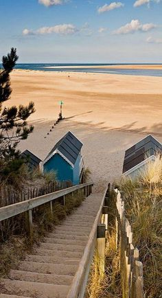 Down to the Beach.. Wells, Norfolk, UK. 19 of the best beaches in Europe: http://www.europealacarte.co.uk/blog/2011/03/28/best-beaches-europ/