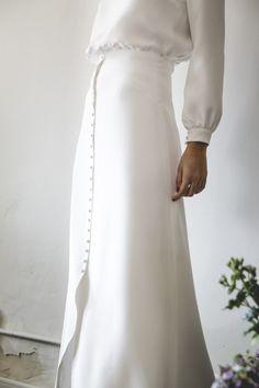 Una falda abotonada | Casilda se casa