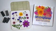 9 x 9 Microfleur  Mikrowelle-Blume-Presse von VTPressedFlowers