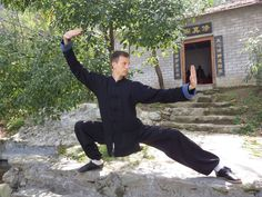 Michael from Austria, strong kung fu form..He studies in the Wudang Traditional Martial Arts School. http://wudangmartialarts.com/