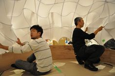 Critical Mass : Real Size Thinking Competition - Pop-up Shelter