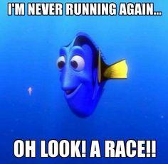 Never running again