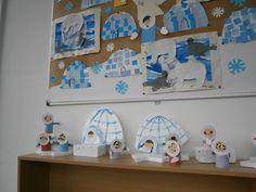 Valentine Crafts, Christmas Crafts, Serbian Language, Crafts For Kids, Arts And Crafts, Alphabet Activities, Reggio Emilia, Winter Theme, Penguins