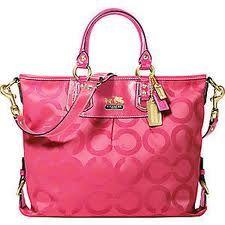 Coach Madison Op Art Julianne 12963 Pink-coach handbags with free shipping