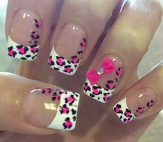 so cute,love this nail design idea!