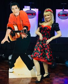 Oldies and Band rockin' the night away at corporate event. Polished, professional, packing your dance floor with tunes and to current. Grease Theme, Corporate Entertainment, 50s Rockabilly, Sock Hop, Back To The Future, Corporate Events, Plays, Orlando, Chrome
