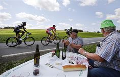 How to watch the Tour de France in style. Stage 6 of the Tour de France 2015