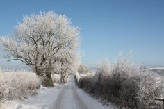 The Durham Dales becomes very picturesque in winter. This photo from December 2011 in Teesdale.