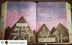 Reposting from my main insta... setting up a page for my Bible journaling journey :) #biblejournaling #biblejournalingcommunity #illustratedfaith #ipaintinmybible http://ift.tt/1KAavV3